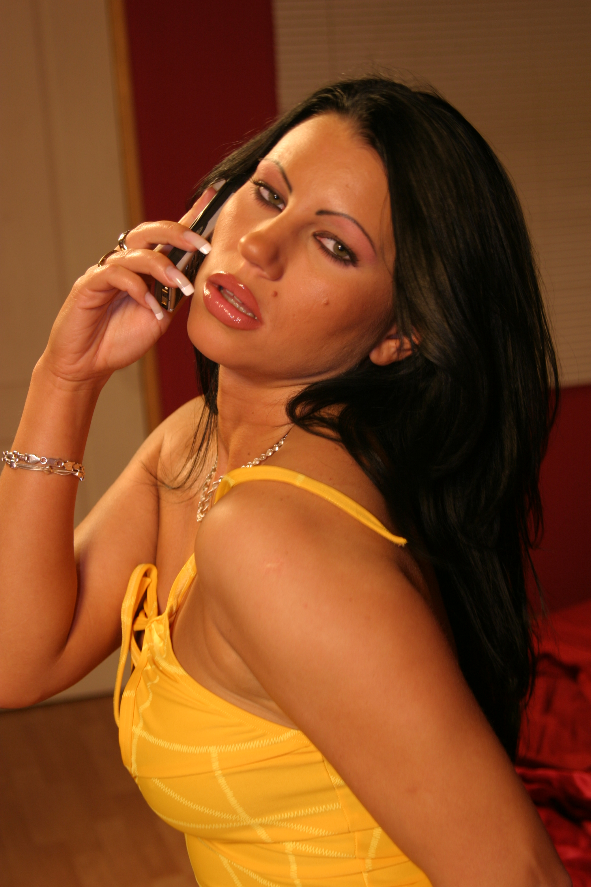 Telefondating mit dem Girl next door
