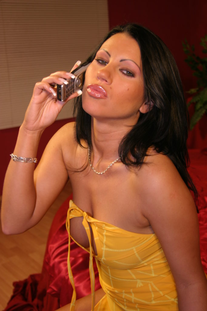Telefondating mit dem Girl next door